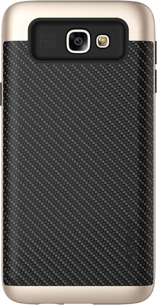 Araree Amy Classic чехол для Samsung Galaxy J5 Prime, GoldAR20-00193AЧехол Araree Amy Classic для Samsung Galaxy J5 Prime бережно и надежно защитит ваш смартфон от пыли, грязи, царапин и других повреждений. Выполнен из высококачественных материалов, плотно прилегает и не скользит в руках. Чехол оставляет свободным доступ ко всем разъемам и кнопкам устройства.