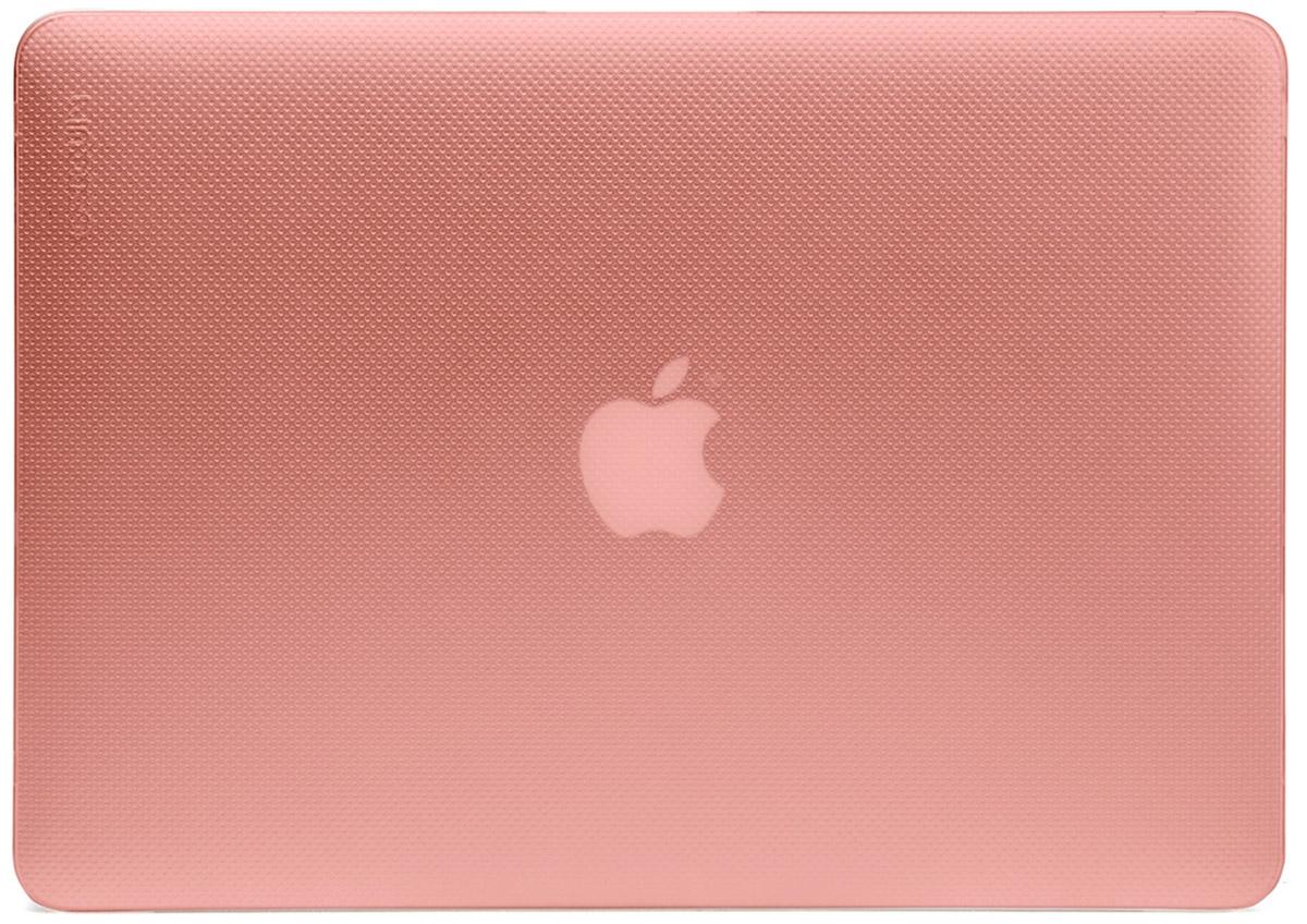 Incase Hardshell Case Dots чехол для Apple MacBook Pro 13, Rose QuartzCL90052Защитите свой MacBook и украсьте его в своём стиле с помощью лёгкого облегающего футляра Hardshell Case Dots от Incase. Он обеспечивает полную защиту, не закрывая доступ к разъёмам, индикаторам и кнопкам. Этот прочный футляр для MacBook выполнен в элегантном стиле. Благодаря литой конструкции и прорезиненным ножкам ноутбук хорошо зафиксирован на месте и не нагревается. Имеет вентиляционные отверстия для отвода тепловыделения.