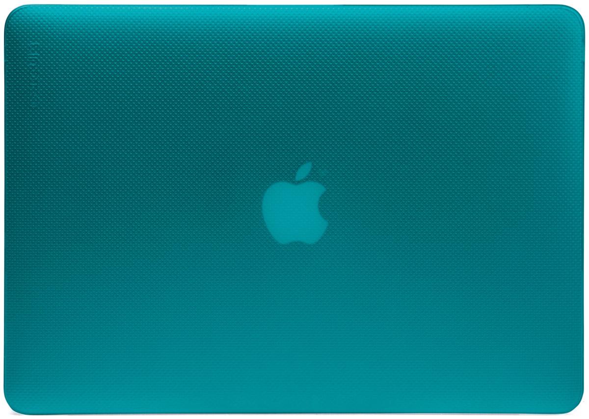 Incase Hardshell Case Dots чехол для Apple MacBook Pro Retina 13, PeacockCL90059Защитите свой MacBook и украсьте его в своём стиле с помощью лёгкого облегающего футляра Hardshell Case Dots от Incase. Он обеспечивает полную защиту, не закрывая доступ к разъёмам, индикаторам и кнопкам. Этот прочный футляр для MacBook выполнен в элегантном стиле. Благодаря литой конструкции и прорезиненным ножкам ноутбук хорошо зафиксирован на месте и не нагревается. Имеет вентиляционные отверстия для отвода тепловыделения.