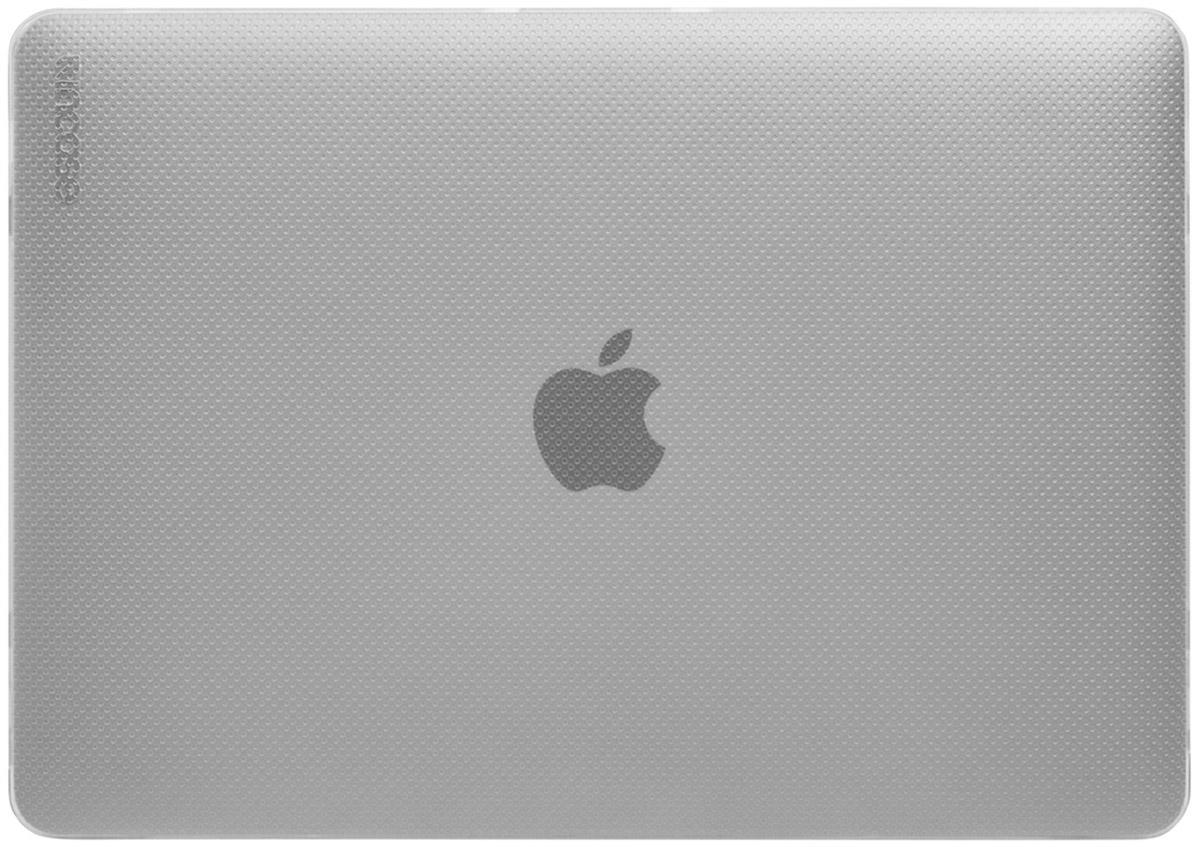 Incase Hardshell Case Dots чехол для Apple MacBook 12, ClearCL60677Защитите свой MacBook и украсьте его в своём стиле с помощью лёгкого облегающего футляра Hardshell Case Dots от Incase. Он обеспечивает полную защиту, не закрывая доступ к разъёмам, индикаторам и кнопкам. Этот прочный футляр для MacBook выполнен в элегантном стиле. Благодаря литой конструкции и прорезиненным ножкам ноутбук хорошо зафиксирован на месте и не нагревается. Имеет вентиляционные отверстия для отвода тепловыделения.