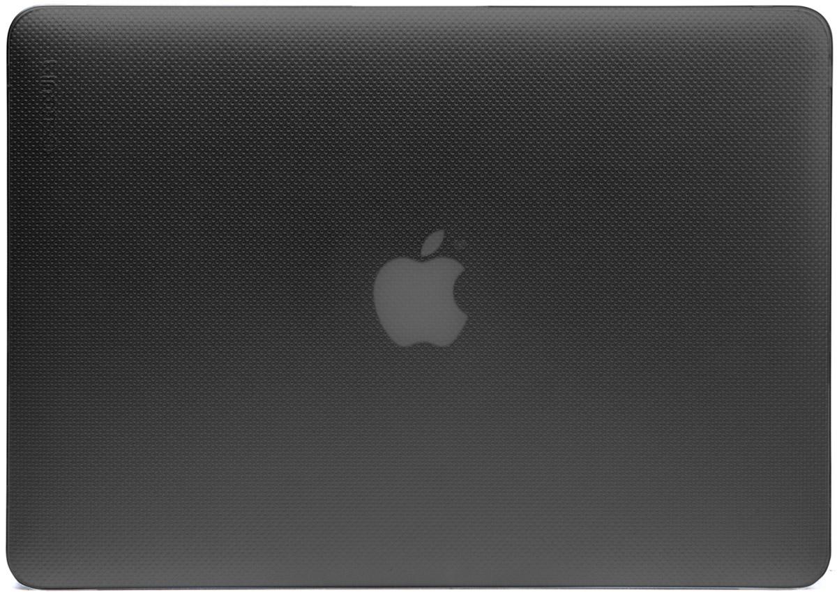 Incase Hardshell Case Dots чехол для Apple MacBook Air 13, Black FrostCL60605Защитите свой MacBook и украсьте его в своём стиле с помощью лёгкого облегающего футляра Hardshell Case Dots от Incase. Он обеспечивает полную защиту, не закрывая доступ к разъёмам, индикаторам и кнопкам. Этот прочный футляр для MacBook выполнен в элегантном стиле. Благодаря литой конструкции и прорезиненным ножкам ноутбук хорошо зафиксирован на месте и не нагревается. Имеет вентиляционные отверстия для отвода тепловыделения.
