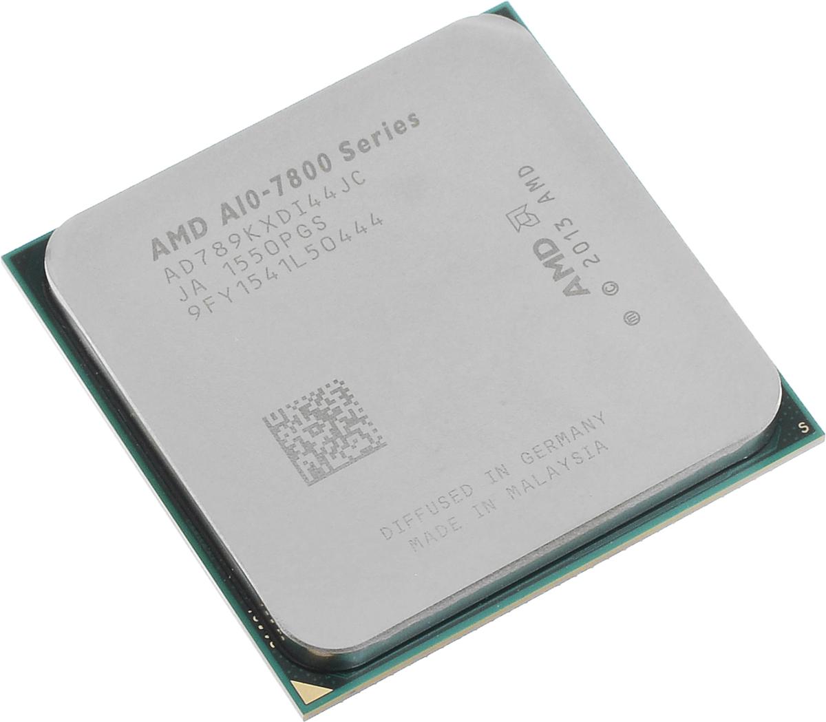 AMD A10-7890K процессор (AD789KXDI44JC)AD789KXDI44JCПроцессор AMD A10-7890K со встроенным видеоядром Radeon R7 подойдет для настольных персональных компьютеров, основанных на платформе AMD. Данная модель имеет разблокированный множитель, а также встроенный двухканальный контроллер памяти DDR3.