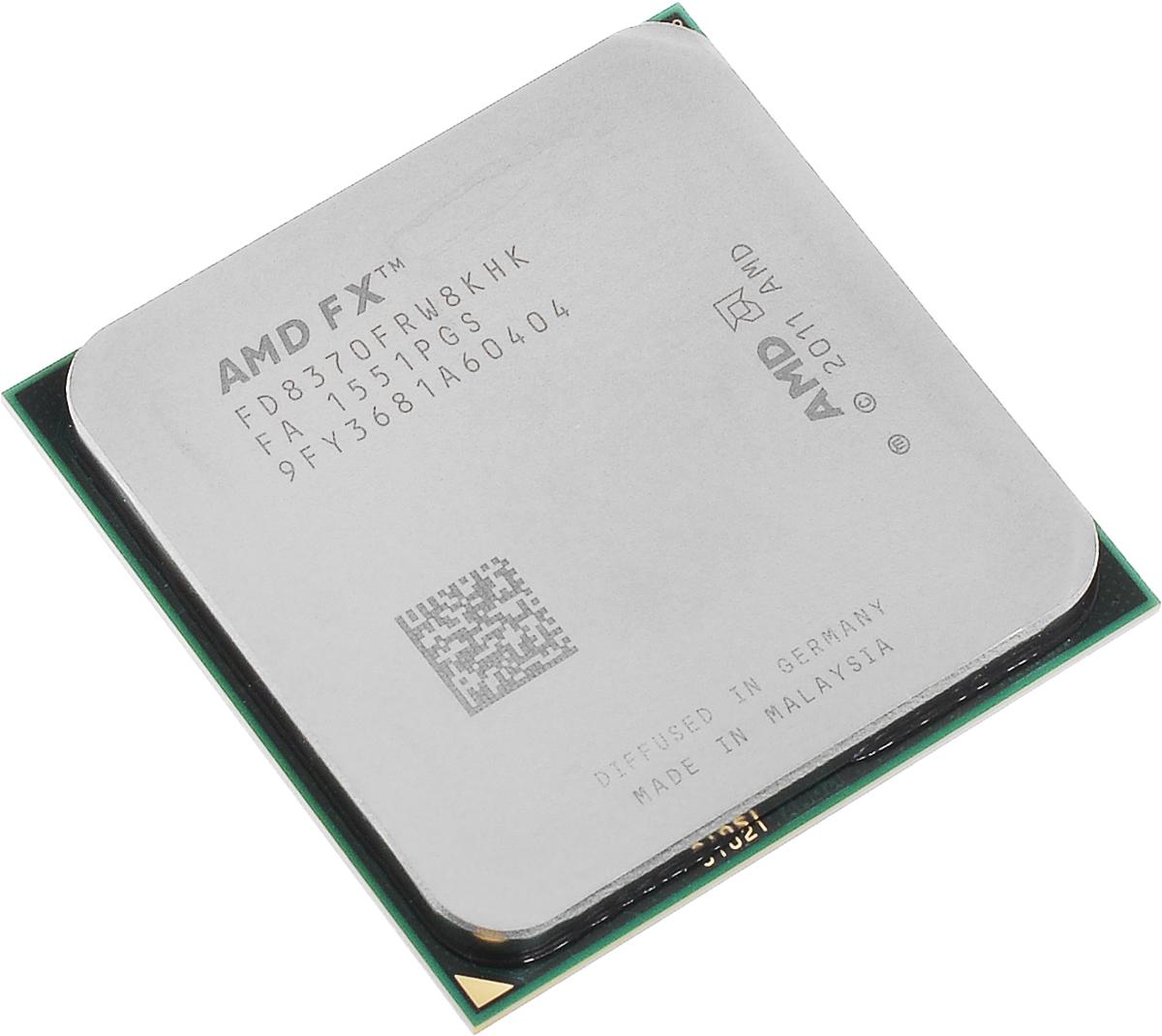 AMD FX-8370 процессор (FD8370FRW8KHK)FD8370FRW8KHKПроцессор AMD FX-8370 подойдет для настольных персональных компьютеров, основанных на платформе AMD. Данная модель имеет разблокированный множитель, а также встроенный двухканальный контроллер памяти DDR3. Процессор поддерживает все основные технологии AMD: AMD64 Enhanced Virus Protection, HyperTransport, PowerNow! / CoolnQuiet, Turbo Core 3.0, Virtualization