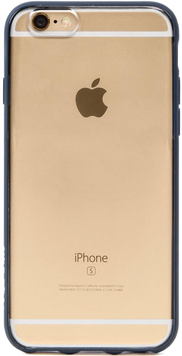 Incase Pop Case чехол для Apple iPhone 6 Plus/6s Plus, Clear Midnight BlueCL69460Чехол Incase Pop для Apple iPhone 6 Plus/6s Plus, выполненный в элегантном минималистичном стиле, надёжно защищает телефон. Благодаря прочной задней панели из поликарбоната и прорезиненному периметру этот чехол обеспечивает повышенную защиту от ударов и обладает достаточной гибкостью. Обеспечивает полный доступ ко всем портам и кнопкам устройства.