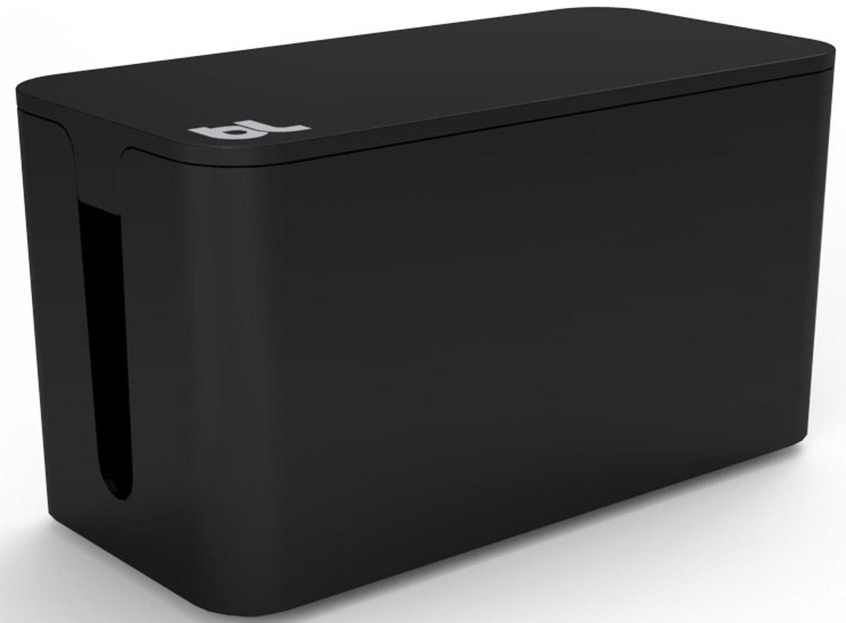 Bluelounge CBM-BL CableBox Mini, Black бокс для хранения проводов с сетевым фильтром