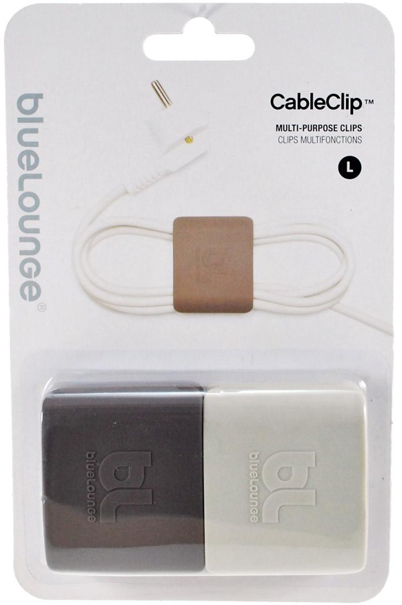 Bluelounge CableClip Large клипса-держатель для кабеля, 2 шт CC-LG