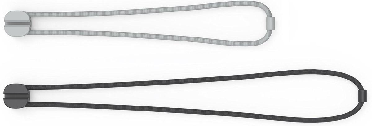 Bluelounge PX-SM-01 Pixi Small, Grey Black зажим для проводов, 8 шт