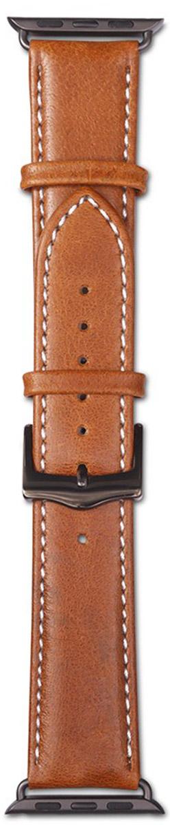 Dbramante1928 Copenhagen Watch Strap, Tan Dark Grey ремешок для Apple Watch (38 мм)