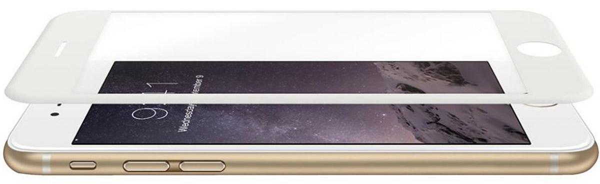 Just Mobile AutoHeal Film защитная пленка для Apple iPhone 6 Plus/6s Plus, WhiteSP-199WHЗащитная пленка Just Mobile AutoHeal предназначена для защиты поверхности экрана iPhone 6 Plus/6s Plus от царапин, потертостей, отпечатков пальцев и прочих следов механического воздействия. Структура пленки позволяет ей плотно удерживаться без помощи клеевых составов и выравнивать поверхность при небольших механических воздействиях. Пленка сохраняет все характеристики цветопередачи и чувствительности сенсора. На защитной пленке есть все технологические отверстия. Цвет боковых сторон белый.