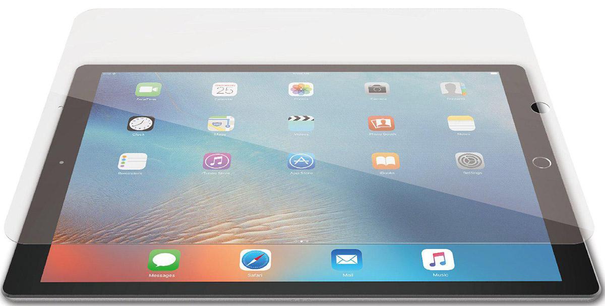 Just Mobile AutoHeal Protector защитная пленка для Apple iPad Pro 12,9SP-568Защитная пленка Just Mobile AutoHeal Protector предназначена для защиты поверхности экрана Apple iPad Pro 12,9 от царапин, потертостей, отпечатков пальцев и прочих следов механического воздействия. Структура пленки позволяет ей плотно удерживаться без помощи клеевых составов и выравнивать поверхность при небольших механических воздействиях. Пленка сохраняет все характеристики цветопередачи и чувствительности сенсора. На защитной пленке есть все технологические отверстия.
