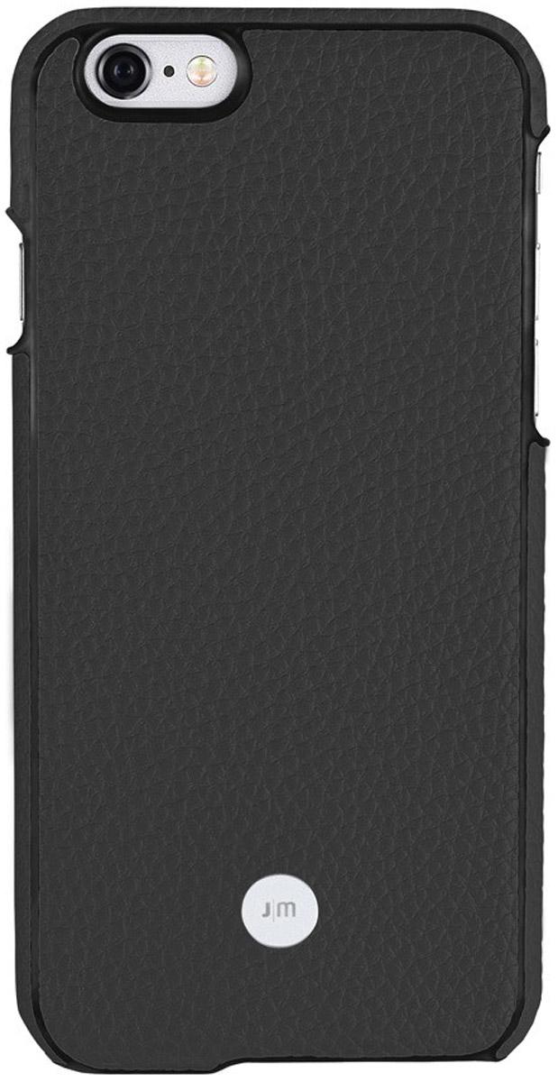 Just Mobile Quattro Back Case чехол для Apple iPhone 6 Plus/6s Plus, BlackLC-169BKЧехол Just Mobile Quattro Back Case для Apple iPhone 6 Plus/6s Plus выполнен из высококачественных материалов. Его ультратонкий корпус из поликарбоната обтянут прочной, мягкой на ощупь натуральной кожей. Чехол обеспечивает надежную защиту корпуса смартфона и надолго сохраняет его привлекательный внешний вид. Также обеспечивает свободный доступ ко всем разъемам и клавишам устройства.