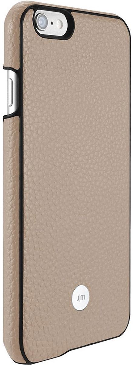 Just Mobile Quattro Back Case чехол для Apple iPhone 6/6s, BeigeLC-168BGЧехол Just Mobile Quattro Back Case для Apple iPhone 6/6s выполнен из высококачественных материалов. Его ультратонкий корпус из поликарбоната обтянут прочной, мягкой на ощупь натуральной кожей. Чехол обеспечивает надежную защиту корпуса смартфона и надолго сохраняет его привлекательный внешний вид. Также обеспечивает свободный доступ ко всем разъемам и клавишам устройства.