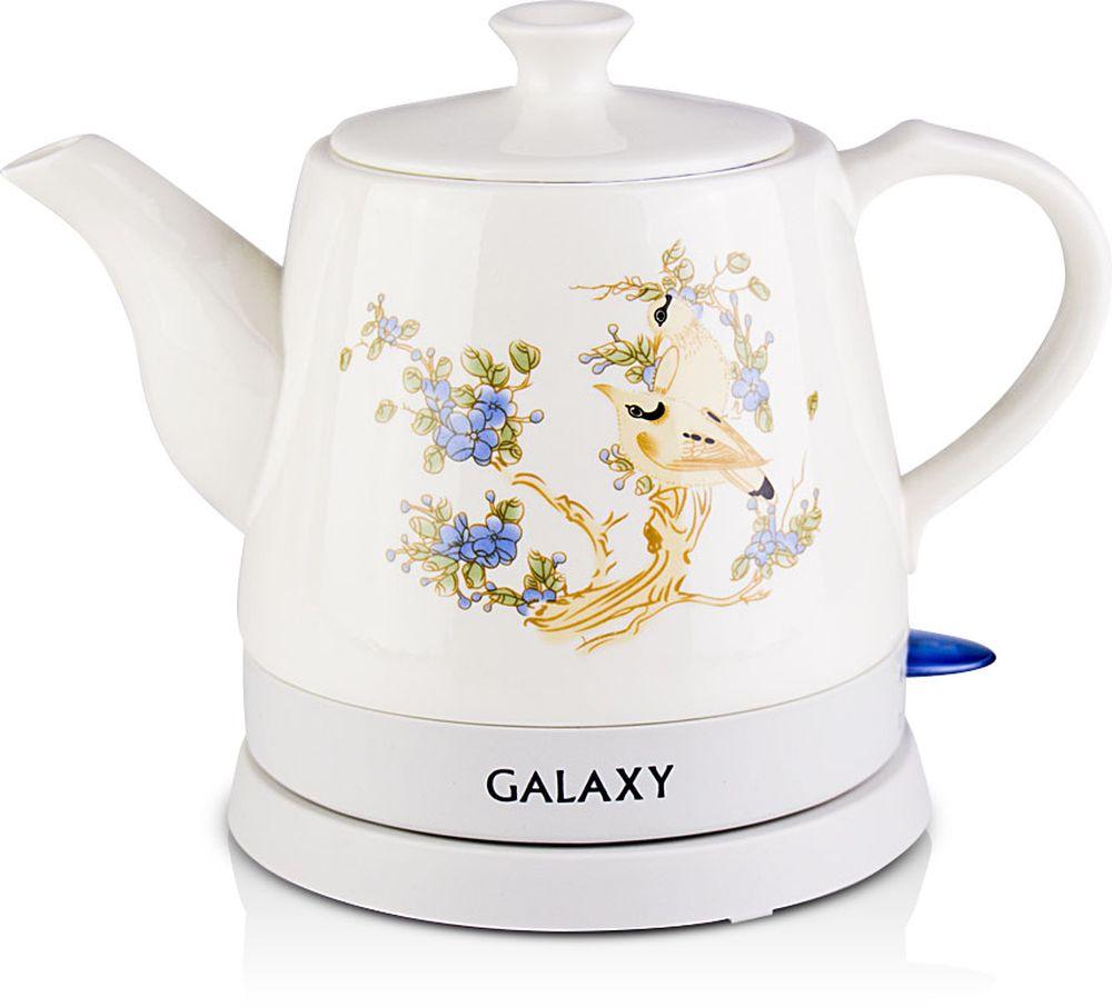 Galaxy GL 0504 электрический чайник4630003369192Электрический чайник Galaxy GL 0504. Мощность, Вт: 1400 Объем, л: 1,2 Скрытый нагревательный элемент Керамический корпус Автоотключение при закипании Автоотключение при отсутствии воды Прорезиненные ножки Индикатор работы Напряжение сети, В: 220 Частота, Гц: 50.