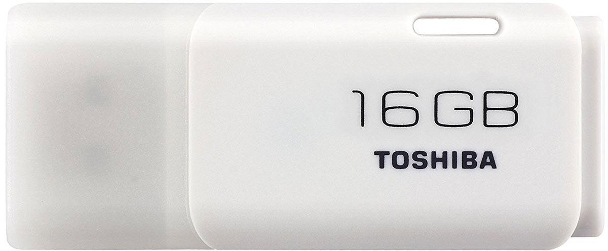 Toshiba U202 16GB, White флеш-накопитель