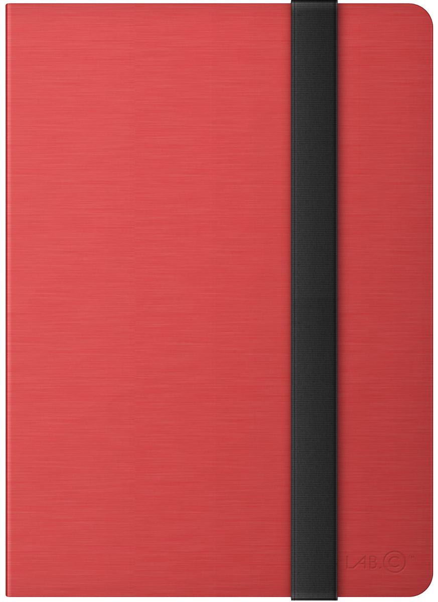 LAB.C Slim Fit Case чехол для Apple iPad Pro 9.7, RedLABC-417-RDЧехол LAB.C Slim Fit для Apple iPad Pro 9,7 выполнен из полиуретана и имеет надежную конструкцию. Толщиной всего 12 мм, он обеспечивает прочную защиту со всех сторон. LAB.C Slim Fit имеет регулируемый угол наклона, который превращает чехол в удобную подставку. Обеспечивает свободный доступ ко всем кнопкам и разъемам устройства.