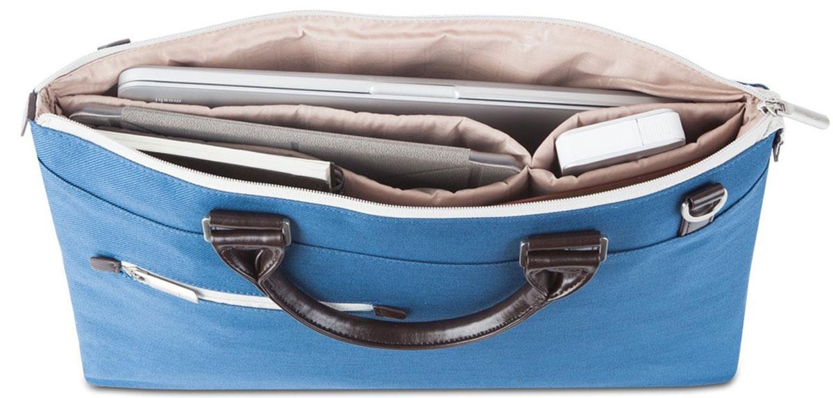 Moshi Urbana Slim, Blue сумка для ноутбука 1599MO078511