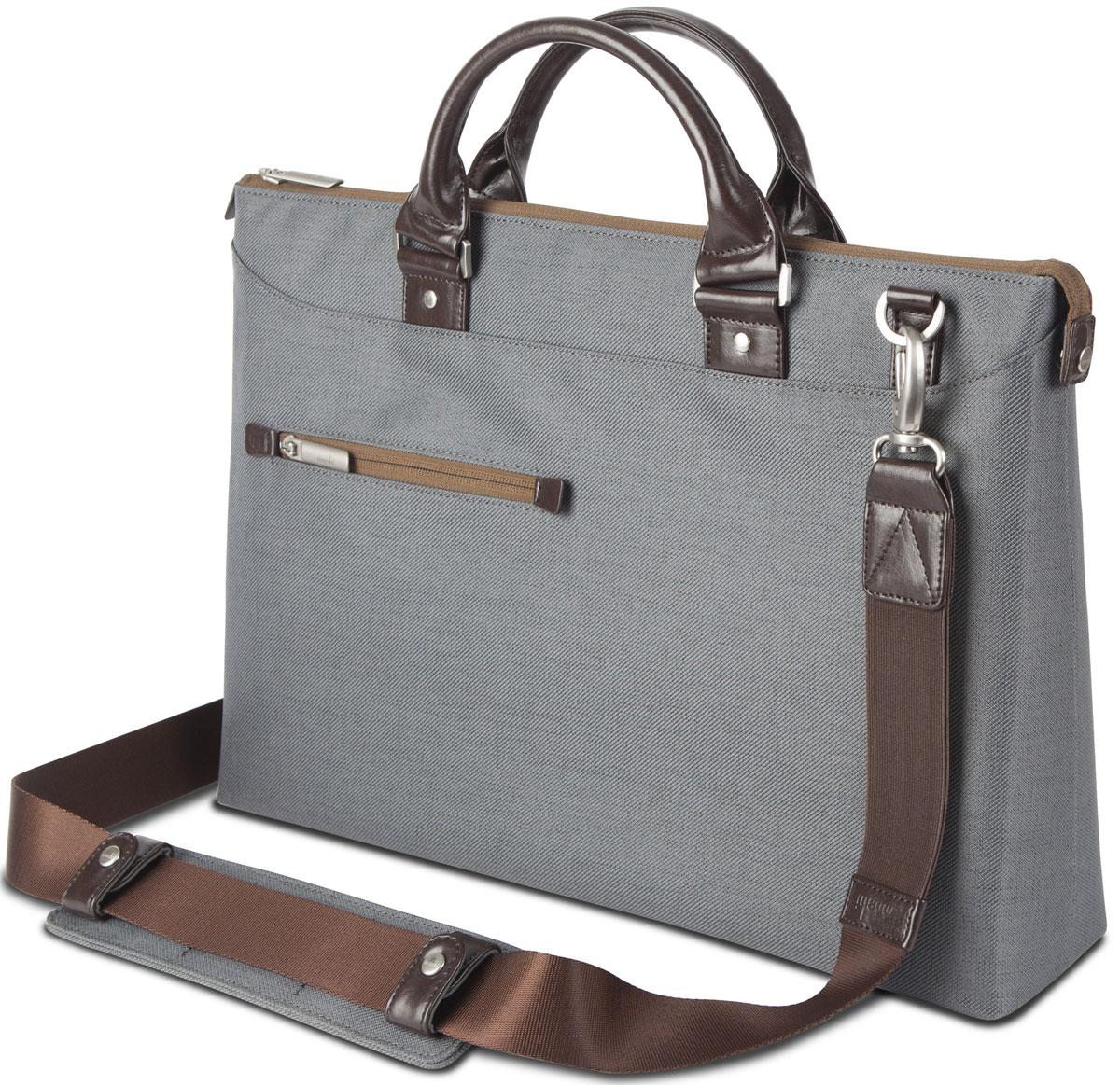 Moshi Urbana Slim, Gray сумка для ноутбука 1599MO078031