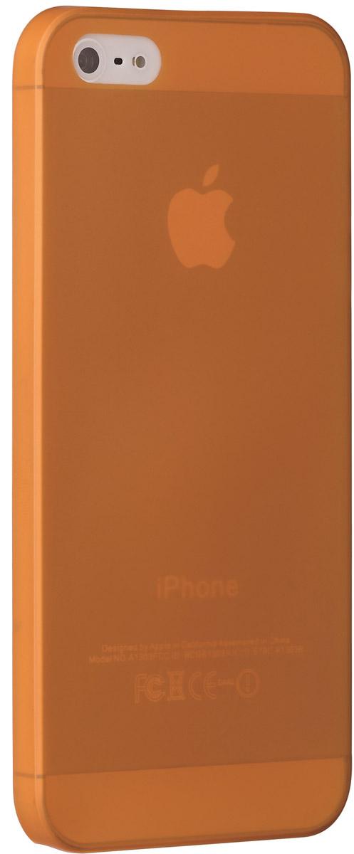 Ozaki O!coat 0.3 Jelly чехол для Apple iPhone 5/5s, OrangeOC533OGЧехол Ozaki O!coat 0.3 Jelly Case для Apple iPhone 5/5s предназначен для защиты корпуса смартфона от механических повреждений и царапин в процессе эксплуатации. Имеется свободный доступ ко всем разъемам и кнопкам устройства. Толщина чехла составляет 0,3 мм.