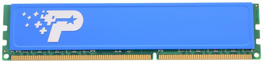 Patriot DDR3 DIMM 8Gb 1600МГц модуль оперативной памяти (PSD38G16002H)