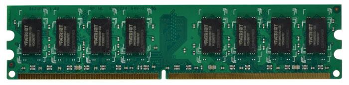 Patriot DDRII DIMM 4Gb 800МГц модуль оперативной памяти (PSD24G8002)PSD24G8002Небуферезированная память Patriot DDR2 PSD24G8002 предоставляет качество работы, надежность и производительность, требуемую для современных компьютеров сегодня. Этот модуль емкостью 4 ГБ, спроектирован для работы на частоте 800 МГц PC2-6400 при таймингах CAS 6. Модуль собран при использовании специальных компонентов.