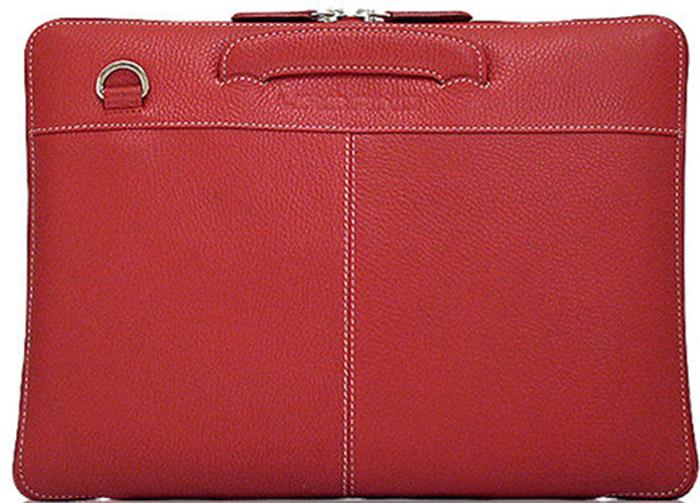 Urbano Leather Habdbag сумка для Apple Macbook 13, Red