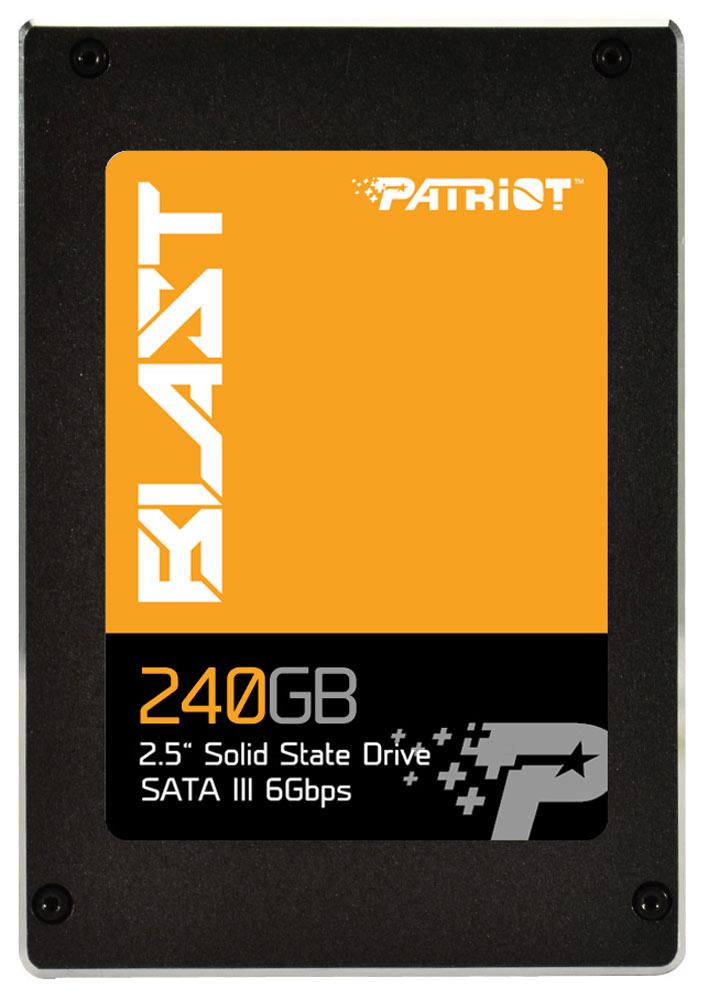 Patriot SSD Blast 240Gb SSD-накопитель (PBT240GS25SSDR)PBT240GS25SSDRTвердотелый жесткий диск (SSD) Patriot Blast - лучшее решение для тех, кто планирует улучшить производительность и емкость системы. SSD Blast соответствует желанию пользователей устранить временной лаг в работе традиционных HDD. Встроенный интерфейс SATAIII 6 Гб/с обратно совместим с SATAII 3 ГБ/с, Patriot Blast считывает данные на скорости 560 МБ/с и осуществляет запись до 530 МБ/с. При высоте 7 мм в форм-факторе 2.5, Blast подходит для ультрабуков, ноутбуков или стационарных компьютеров. Расширенные опции включают в себя функции: защиту тракта передачи данных (ETEP), выравнивание степени износа, чистку памяти, коррекцию ошибок ECC, смарт-обновления, технологию смарт-флеш. Patriot Blast совместим с системами Windows XP/Vista/7/8/8.1, Mac OS X и Linux.