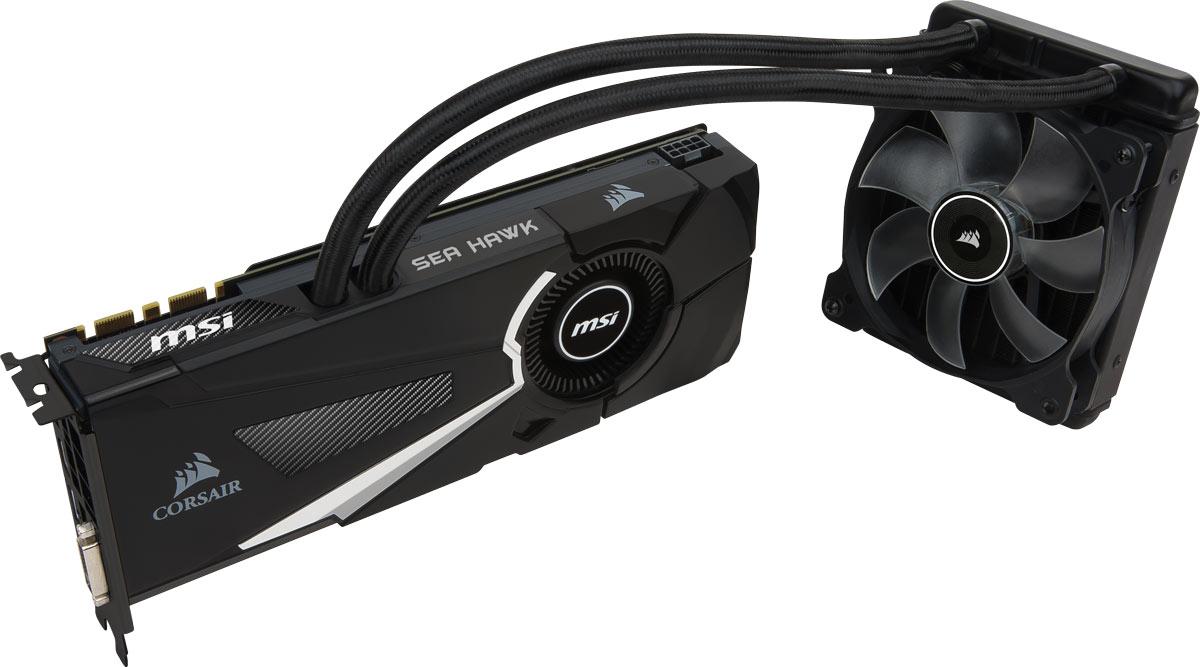 MSI GeForce GTX 1080 Sea Hawk X 8GB видеокартаGTX 1080 SEA HAWK XMSI GeForce GTX 1080 Sea Hawk X демонстрирует наивысшую производительность и поддерживает передовые технологии NVIDIA GameWorks и GeForce Experience в самых современных компьютерных играх. Видеокарта GTX 1080 на основе графического ядра Pascal демонстрирует высочайшую производительность и энергоэффективность, а такие особенности как, ультра-быстрые транзисторы FinFET и поддержка DirectX 12, способствуют плавному геймплею и высокой скорости в играх. Ядро Pascal разработано специально для работы с дисплеями следующего поколения, включая решения для виртуальной реальности, ультра-высокое разрешение и подключение нескольких мониторов. Технологии NVIDIA GameWorks обеспечивают максимально плавный геймплей и кинематографическое качество. Кроме этого, становится возможным осуществлять захват видео с революционно новыми возможностями - углом обзора 360 градусов. Откройте для себя новое поколение виртуальной реальности, минимальные задержки и...