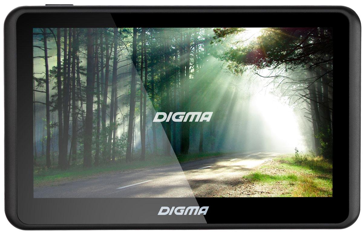 Digma Alldrive 501, Black GPS навигаторALLDRIVE 501GPS навигатор Digma Alldrive 501 - это устройство, созданное для облегчения жизни автомобилистов и путешественников. Оснащенный программным обеспечением Navitel, девайс поможет вам всегда получать только актуальную и детализированную информацию о вашем местонахождении и без проблем добраться до места назначения. Голосовое оповещение предназначено для того, чтобы водитель был сконцентрирован только на дороге. Устройство имеет цветной 5 сенсорный дисплей с разрешением 480х272 пикселей. Работающий на базе операционной системы Windows CE 6.0, GPS навигатор Digma Alldrive 501 располагает большими мультимедийными возможностями. Быструю работу устройства обеспечивает процессор Mstar MSB2531, имеющий частоту 800 МГц, и оперативная память 128 МБ. Наличие собственной памяти 4 ГБ и возможность установить флеш-накопитель microSD до 32 ГБ позволяет помимо навигационных карт наполнить устройство медиафайлами. Аккумулятор емкостью 950 мА/ч позволяет...