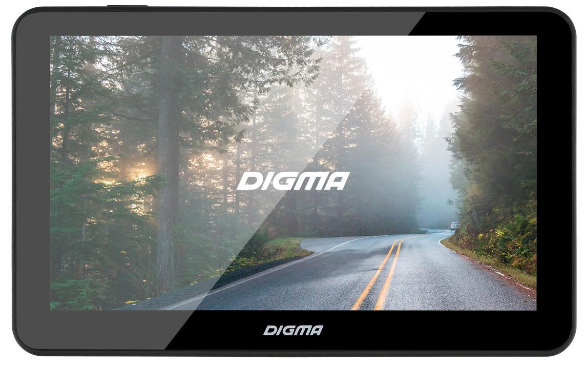 Digma Alldrive 701, Black GPS навигаторALLDRIVE 701GPS навигатор Digma Alldrive 701 - это устройство, созданное для облегчения жизни автомобилистов и путешественников. Оснащенный программным обеспечением Navitel, девайс поможет вам всегда получать только актуальную и детализированную информацию о вашем местонахождении и без проблем добраться до места назначения. Голосовое оповещение предназначено для того, чтобы водитель был сконцентрирован только на дороге. Устройство имеет цветной 7 сенсорный дисплей с разрешением 800х480 пикселей. Работающий на базе операционной системы Windows CE 6.0, GPS навигатор Digma Alldrive 701 располагает большими мультимедийными возможностями. Быструю работу устройства обеспечивает процессор Mstar MSB2531, имеющий частоту 800 МГц, и оперативная память 128 МБ. Наличие собственной памяти 4 ГБ и возможность установить флеш-накопитель microSD до 32 ГБ позволяет помимо навигационных карт наполнить устройство медиафайлами. Аккумулятор емкостью 850 мА/ч позволяет...