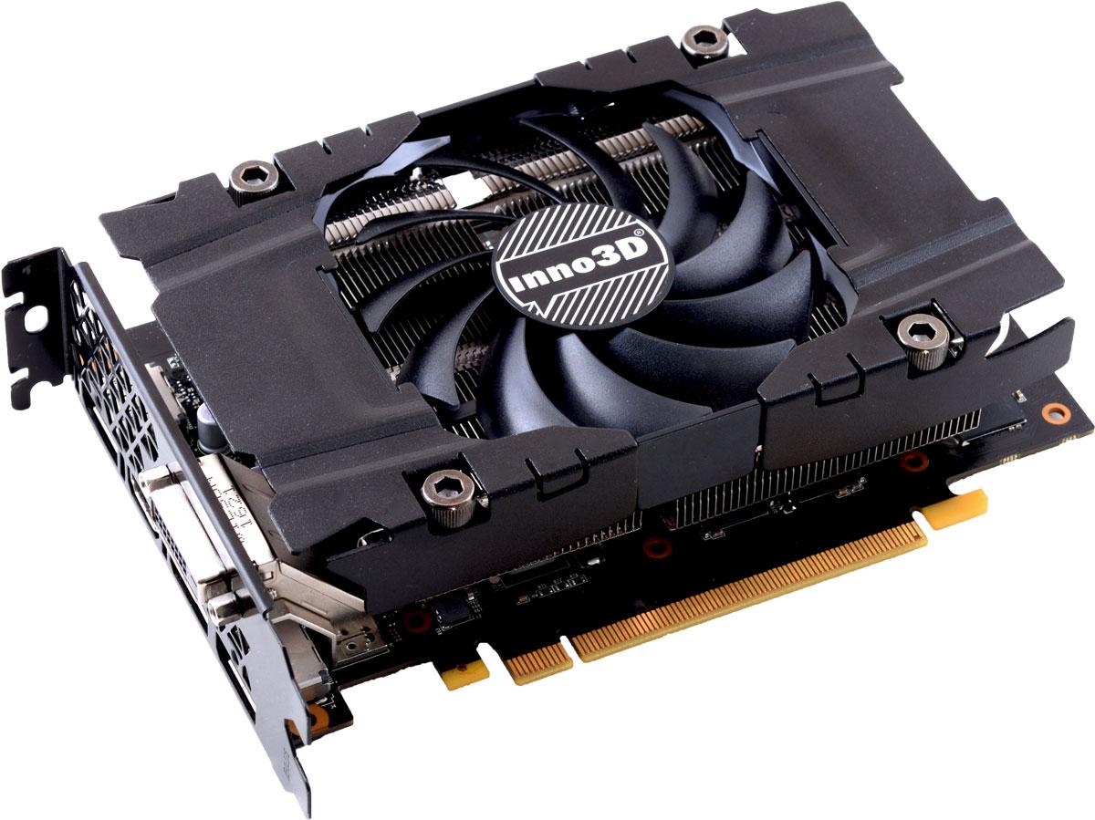 Inno3D GeForce GTX 1060 Compact 3GB видеокартаN1060-2DDN-L5GNВидеокарта Inno3D GeForce GTX 1060 Compact оснащена инновационными игровыми технологиями, что делает ее идеальном выбором для самых современных игр в высоком разрешении. Создана на основе архитектуры NVIDIA Pascal, самой технически продвинутой архитектуры GPU из когда-либо созданных. Она обеспечивает высочайшую производительность, которая открывает дорогу к VR-играм и другим возможностям. Видеокарта GTX 1060 на основе графического ядра Pascal демонстрирует высочайшую производительность и энергоэффективность, а такие особенности как ультра-быстрые транзисторы FinFET и поддержка DirectX 12, способствуют плавному геймплею и высокой скорости в играх. Откройте для себя новое поколение виртуальной реальности, минимальные задержки и plug-and-play совместимость с самыми популярными гарнитурами. Все это становится возможным благодаря технологиям NVIDIA VRWorks. Виртуальный звук, физика и ощущения позволят вам слышать и чувствовать каждый момент. ...
