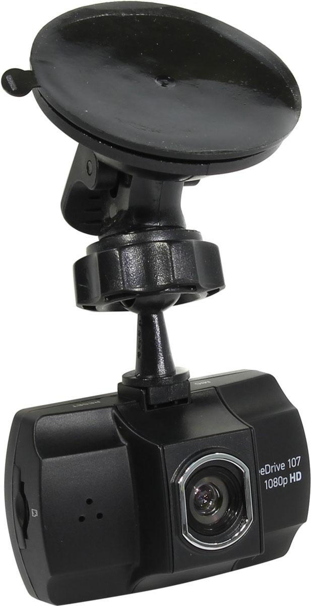 Digma FreeDrive 107, Black видеорегистратор
