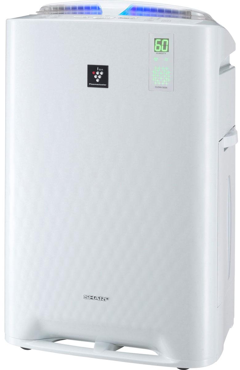 Sharp KCA51RW климатический комплексKCA51RWКлиматический комплекс Sharp KCA51RW имеет уникальную технологию ионизации и очистки воздуха Plasmacluster. Она при помощи отрицательно и положительно заряженных ионов активно деактивирует переносимые по воздуху вирусы, бактерии, грибки плесени, аллергены и другие вредные примеси непосредственно в воздухе, а не в корпусе прибора. Кроме того, технология поддерживает в помещении баланс положительных и отрицательных ионов на уровне идеальных природных условий. Одновременные увлажнение и ионизация воздуха в режиме Ионный дождь усиливает эффективность очистки воздуха от вредных примесей и бытовой пыли, а также устраняет неприятные запахи и статическое электричество. Принцип увлажнения воздуха - традиционный (холодное испарение) - обеспечивает бережное естественное увлажнение воздуха без эффекта перенасыщения воздуха влагой и без осадков на мебели и растениях. Климатический комплекс Sharp KC-A51RW оснащен сенсорами (пыли, запаха, температуры и влажности), которые постоянно...