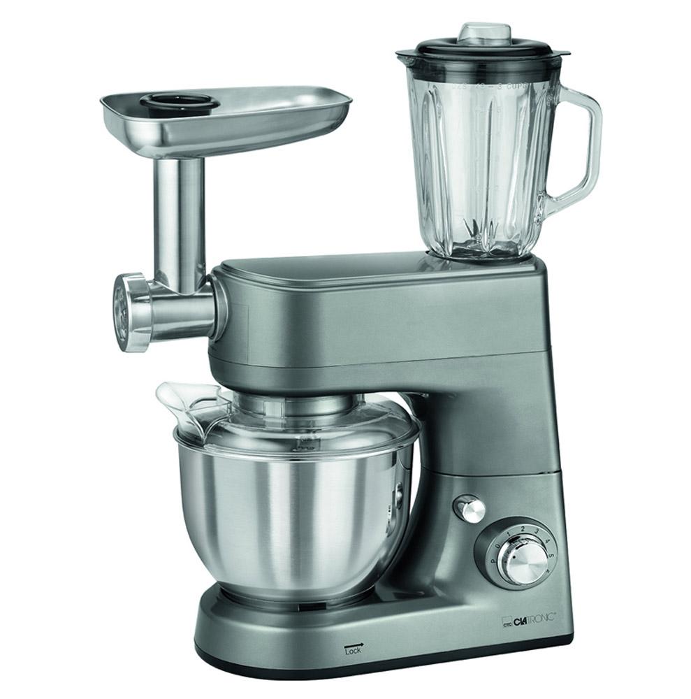 Clatronic KM 3648, Titan кухонный комбайнKM 3648 titanВысокопроизводительный кухонный комбайн Clatronic KM 3648, заменит ваши некоторые кухонные приборы и тем самым позволит вам тратить гораздо меньше времени на обработку продуктов. Легко разбирается для мытья и чистки.