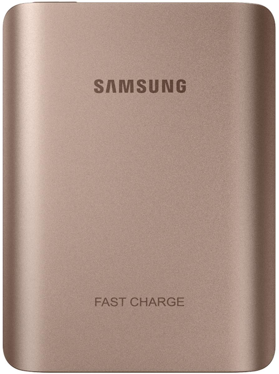 Samsung EB-PN930, Gold внешний аккумуляторEB-PN930CZRGRUВнешний аккумулятор Samsung EB-PN930 использует технологию полноценной быстрой зарядки, что означает, что он не только быстро заряжает совместимое мобильное устройство, но и сам заряжается очень быстро. Универсальный внешний аккумулятор совместим со смартфонами Samsung с поддержкой функции быстрой зарядки Adaptive Fast Charge, а также многими другими мобильными устройствами. От многих других этот внешний аккумулятор отличает стильный металлический корпус с закруглёнными краями, схожий с дизайном флагманских устройств Samsung.
