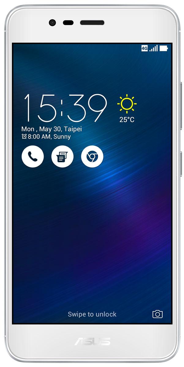 ASUS ZenFone 3 Max ZC520TL, Silver (90AX0087-M00280)90AX0087-M00280Вы живете активной жизнью, а ваш смартфон к середине дня уже разряжен? Тогда вам нужен новый ZenFone 3 Max. Аккумулятор емкостью 4130 мАч позволит пользоваться этим смартфоном с раннего утра до поздней ночи. Работайте продуктивнее, и развлекайтесь ярче - ZenFone 3 Max поможет вам жить еще активнее! С новым 5,2-дюймовым ZenFone 3 Max вам больше не придется беспокоиться о том, что у вас сядет смартфон в самый неподходящий момент. Благодаря большой емкости аккумулятора (4100 мАч), ZenFone 3 Max может работать до 30 дней в режиме ожидания. Чем больше емкость аккумулятора, тем больше пользы от смартфона, ведь каждый хочет получить максимум от своего мобильного устройства, не прибегая к подзарядке: пролистать больше веб-сайтов, просмотреть больше видеороликов и пообщаться с большим числом друзей, чем при использовании обычных смартфонов. Емкости аккумулятора в современном смартфоне никогда не бывает много. Именно поэтому инженеры компании ASUS...