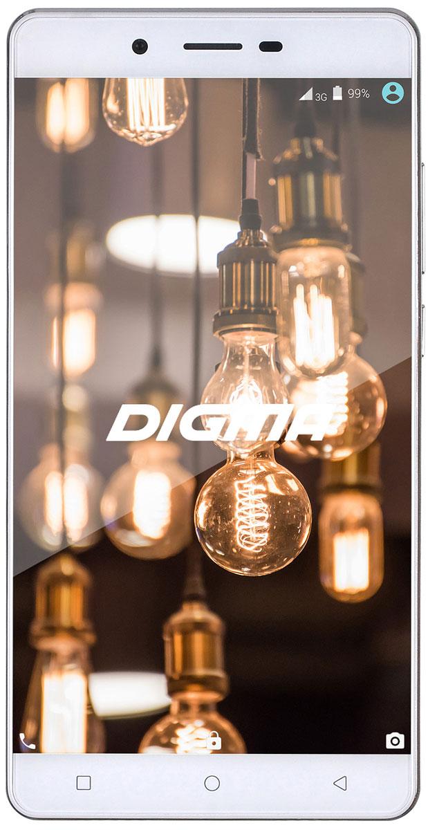 Digma Vox S502 4G, White4690207276856Смартфон Digma Vox S502 4G - компактная модель с 5,5-дюймовым сенсорным экраном и небольшими размерами, которые дают возможность управления функциями устройства одной рукой и помогают потреблять совсем небольшое количество энергии. Встроенный передатчик Wi-Fi позволяет вам быстро установить соединение с точкой доступа. Две SIM-карты дают возможность сочетать наиболее выгодные тарифные планы для голосового общения или мобильного интернета. Комбинированный второй слот под SIM-карту позволяет установить в устройство либо nano-SIM (в качестве второй SIM-карты), либо карту памяти microSD. Современный четырехъядерный процессор легко справляется с работой в режиме многозадачности. Смартфон Digma Vox S502 4G оснащен двумя камерами: основная 8-мегапиксельная со светодиодной вспышкой поможет вам получить четкие снимки даже при слабом освещении. Фронтальная камера с разрешением 2 мегапикселя позволит делать звонки по видеосвязи. Функция GPS без...
