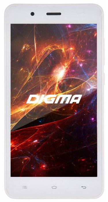 Digma Vox S504 3G, WhiteVS5016PGСмартфон Digma Vox S504 3G - компактная модель с 5-дюймовым сенсорным экраном и небольшими размерами, которые дают возможность управления функциями устройства одной рукой и помогают потреблять совсем небольшое количество энергии. Встроенный передатчик Wi-Fi позволяет вам быстро установить соединение с точкой доступа. Две SIM-карты дают возможность сочетать наиболее выгодные тарифные планы для голосового общения или мобильного интернета. Современный четырехъядерный процессор легко справляется с работой в режиме многозадачности. Смартфон Digma Vox S504 3G оснащен двумя камерами: основная 5-мегапиксельная со светодиодной вспышкой поможет вам получить четкие снимки даже при слабом освещении. Фронтальная камера с разрешением 2 мегапикселя позволит делать звонки по видеосвязи. Функция GPS без труда определит местоположение пользователя, поможет построить маршрут или отметить интересующую вас точку на местности. Телефон...