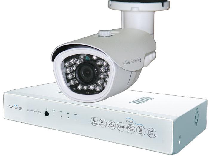 iVue 1080N-1MPX-1B система видеонаблюдения1080N-1MPX-1BКомплект видеонаблюдения iVue 1080N-1MPX-1B - это профессиональный набор систем охранного видеонаблюдения за вашим бизнесом, домом или дачей. Комплект включает в себя видеорегистратор AHD + одна видеокамера 1 Mпикс (720P), которая прекрасно подойдёт к интерьеру любого помещения, блок питания, соединительный кабель и все необходимые аксессуары. AHD - самая современная технология кодирования и передачи видеоизображения по коаксиальному кабелю! Технология AHD позволяет передавать изображение на расстояние до 500 метров без потери качества изображения! Наблюдать вы можете из любой точки мира через интернет с помощью компьютера, планшета или смартфона. Простота подключения обеспечивается облачной технологией P2P. У вас так же есть возможность дополнить этот набор одной, двумя или тремя камерами по вашему выбору. При необходимости вы можете разнести камеры на расстояние до 500 метров (кабель вы можете приобрести отдельно). Жесткий диск для...