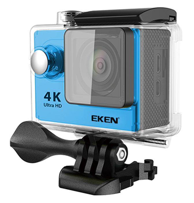 Eken H9 Ultra HD экшн-камераH9Экшн-камера Eken H9 Ultra HD позволяет записывать видео с разрешением 4К и очень плавным изображением до 30 кадров в секунду. Камера оснащена 2 TFT LCD экраном. Эта модель сделана для любителей спорта на улице, подводного плавания, скейтбординга, скай-дайвинга, скалолазания, бега или охоты. Снимайте с руки, на велосипеде, в машине и где угодно. По сравнению с предыдущими версиями, в Eken H9 Ultra HD вы найдете уменьшенные размеры корпуса, увеличенный до 2-х дюймов экран, невероятную оптику и фантастическое разрешение изображения при съемке 30 кадров в секунду! Управляйте вашей H9 на своем смартфоне или планшете. Приложение Ez iCam App позволяет работать с браузером и наблюдать все то, что видит ваша камера.