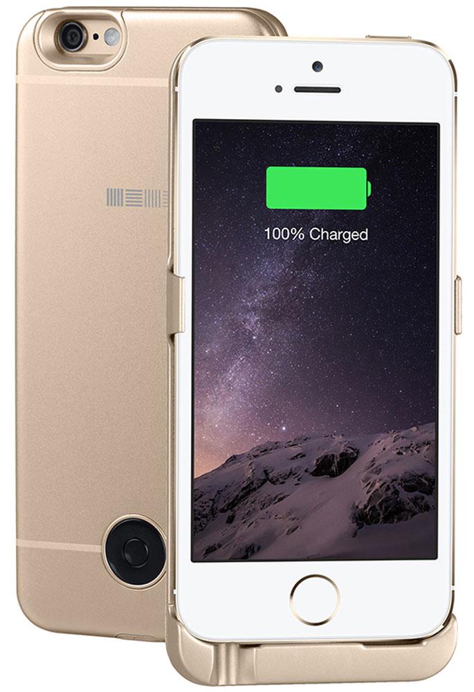 Interstep чехол-аккумулятор для Apple iPhone 5/5s/SE, Gold (2200 мАч)