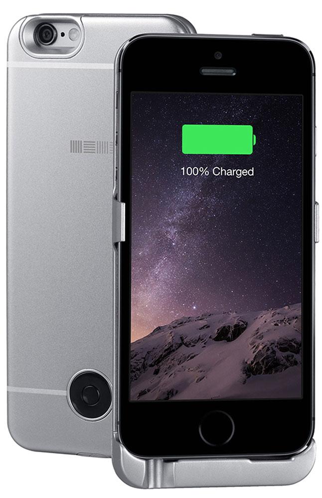 Interstep чехол-аккумулятор для Apple iPhone 5/5s/SE, Gray (2200 мАч)45544Чехол-аккумулятор Interstep - стильный и надежный аксессуар для Apple iPhone 5/5s/SE толщиной всего в 5 мм. Компактные размеры, элегантный дизайн и прочный материал корпуса позволят Interstep не только надежно защитить смартфон от ударов, грязи и царапин, но придадут телефону стильный внешний вид. Встроенный аккумулятор емкостью в 2200 мАч обеспечит смартфон своевременной подзарядкой в самые нужные моменты его использования. Заряжать телефон можно, не извлекая его из чехла, просто подключив адаптер смартфона к чехлу- аккумулятору.