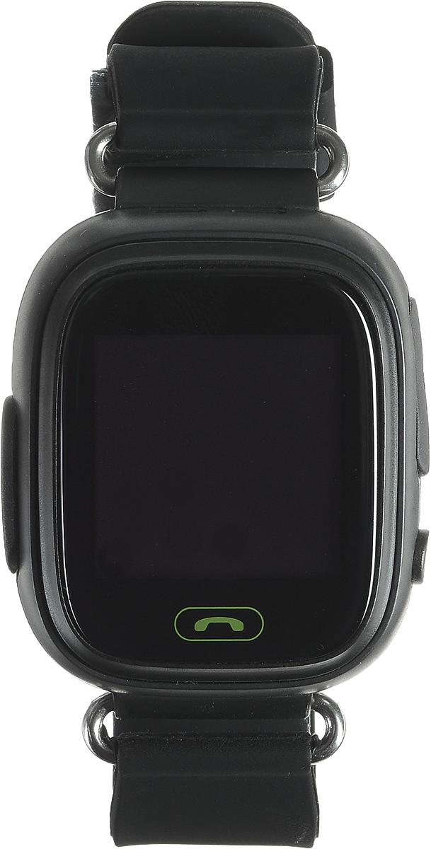TipTop 80ЦС, Black детские часы-телефон00133Детские умные часы-телефон TipTop 80ЦС с GPS-трекером созданы специально для детей и их родителей. С ними вы всегда будете знать, где находится ваш ребенок и что рядом с ним происходит. Управление часами происходит полностью через мобильное приложение, которое можно бесплатно скачать на AppStore или PlayMarket. Основные функции: В часы вставляется сим-карта. Родители всегда могут позвонить на часы, также ребенок может позвонить с часов на 3 самых важных номера - мама, папа, бабушка. Также можно разрешать или запрещать номерам звонить на часы, например, внести в список разрешенных звонков только номера телефонов близких и родных Родители могут слушать, что происходит рядом с ребенком - как няня обращается с ребенком, как ребенок отвечает на уроках На часах есть кнопка SOS - в случае опасности ребенок нажимает на эту кнопку, и часы автоматически дозваниваются на все 3 номера - кто быстрее ответит. Также высылают сообщение...