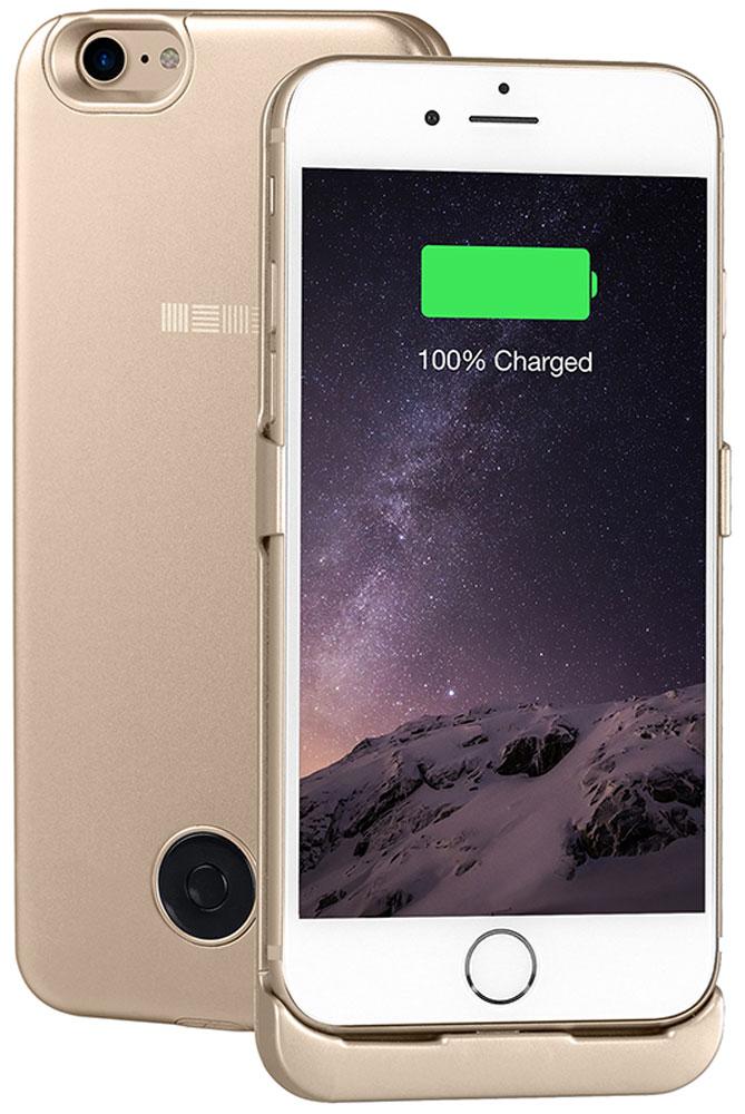 Interstep чехол-аккумулятор для Apple iPhone 7, Gold (3000 мАч)47653Чехол-аккумулятор Interstep - стильный и надежный аксессуар для Apple iPhone 7 толщиной всего в 5 мм. Компактные размеры, элегантный дизайн и прочный материал корпуса позволят Interstep не только надежно защитить смартфон от ударов, грязи и царапин, но придадут телефону стильный внешний вид. Встроенный аккумулятор емкостью в 3000 мАч обеспечит смартфон своевременной подзарядкой в самые нужные моменты его использования. Заряжать телефон можно, не извлекая его из чехла, просто подключив адаптер смартфона к чехлу-аккумулятору. Чехол-аккумулятор Interstep поддерживает функцию сквозного заряда. Ставим iPhone в клипкейсе на заряд на ночь - с утра получаем оба устройства заряженными!