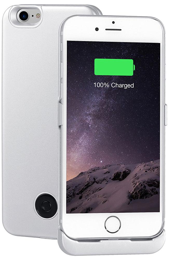 Interstep чехол-аккумулятор для Apple iPhone 7, Silver (3000 мАч)47654Чехол-аккумулятор Interstep - стильный и надежный аксессуар для Apple iPhone 7 толщиной всего в 5 мм. Компактные размеры, элегантный дизайн и прочный материал корпуса позволят Interstep не только надежно защитить смартфон от ударов, грязи и царапин, но придадут телефону стильный внешний вид. Встроенный аккумулятор емкостью в 3000 мАч обеспечит смартфон своевременной подзарядкой в самые нужные моменты его использования. Заряжать телефон можно, не извлекая его из чехла, просто подключив адаптер смартфона к чехлу-аккумулятору. Чехол-аккумулятор Interstep поддерживает функцию сквозного заряда. Ставим iPhone в клипкейсе на заряд на ночь - с утра получаем оба устройства заряженными!