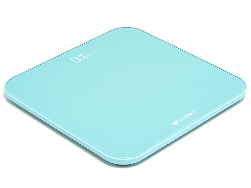 Kitfort КТ-802-1, Turquoise весы напольные