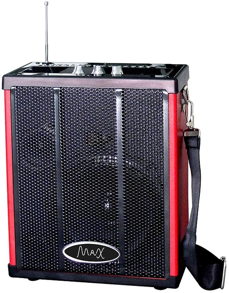 MAX Q71, Red Black портативная акустическая система 4630011250819