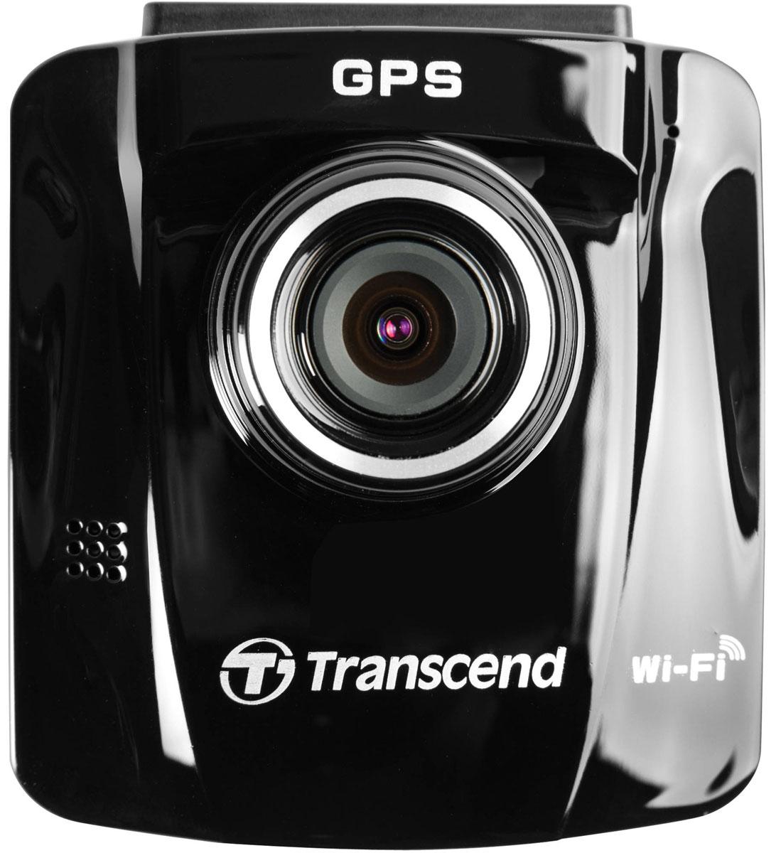 Transcend DrivePro 220 видеорегистратор автомобильный + microSD 16GbTS16GDP220MИ днем, и ночью автомобильный видеорегистратор Transcend DrivePro 220 будет надежным свидетелем во всех ваших поездках. Наличие встроенного аккумулятора, режима экстренной записи, объектива с диафрагмой f/1.8, функции сохранения фотографий, яркого цветного 2,4 ЖК-дисплея — все это обеспечивает максимальное удобство использования. Кроме того, безопасность вождения помогут повысить такие дополнительные функции DrivePro 220 как GPS-приемник, система предупреждения о съезде с текущей полосы движения (LDWS), система предупреждения фронтального столкновения (FCWS), предупреждение о превышении скорости и режим парковки. DrivePro 220 оснащен объективом с большой диафрагмой (f/1.8) и способен автоматически подстраиваться под различные условия освещения, точно фиксируя все детали текущей дорожной обстановки, вне зависимости от времени суток, в том числе, номерные знаки соседних автомобилей. Угол обзора камеры видеорегистратора составляет 130°, а...