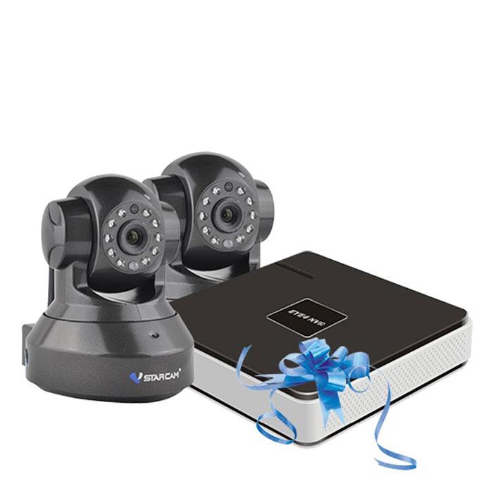 Vstarcam NVR C37 KIT система видеонаблюдения