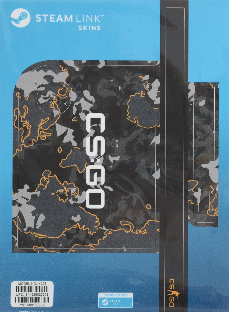 Valve CS:GO, Grey Camo комплект накладок для Steam Link 814585020212
