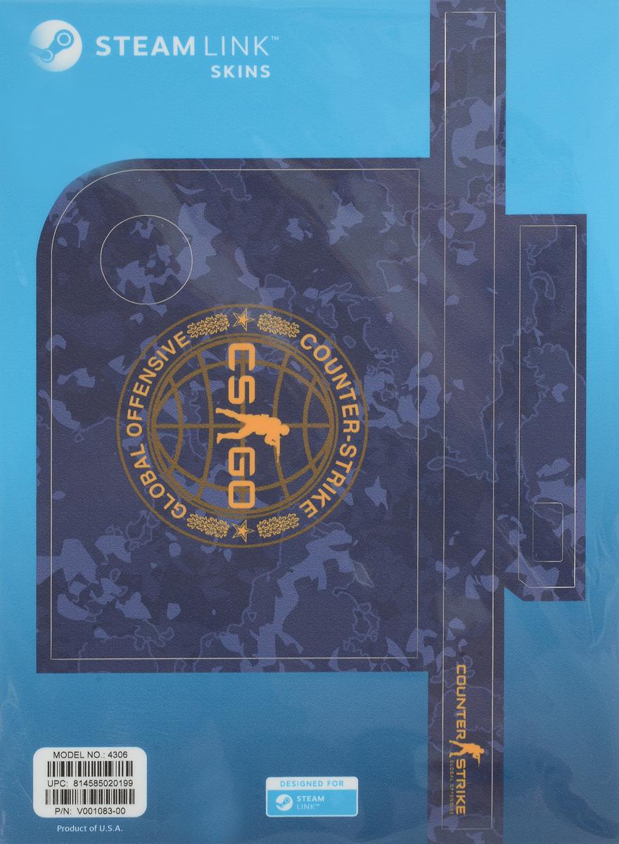 Valve CS:GO, Blue Camo комплект накладок для Steam Link814585020199Возьмите наклейку Steam Link для защиты и придания личного характера вашему устройству! Ее легко наклеить, а также легко удалить, к тому же она отлично подогнана под размер приставки!